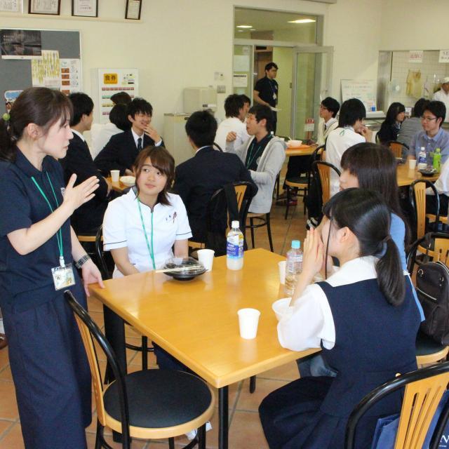 玉野総合医療専門学校 2018 第7回オープンキャンパス 3