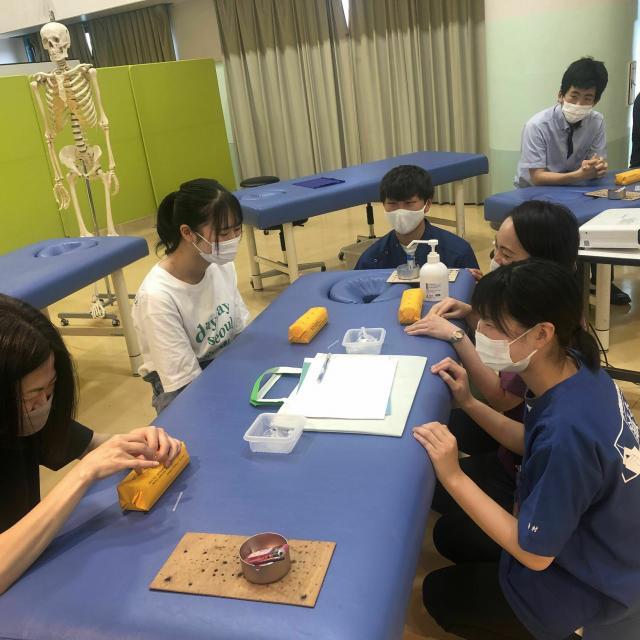 神戸医療福祉専門学校中央校 【鍼灸科】オープンキャンパス3