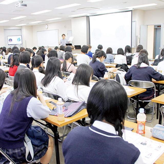 専門学校岡山ビジネスカレッジ 高校3年生対象 進学相談会(岩田町キャンパス)1