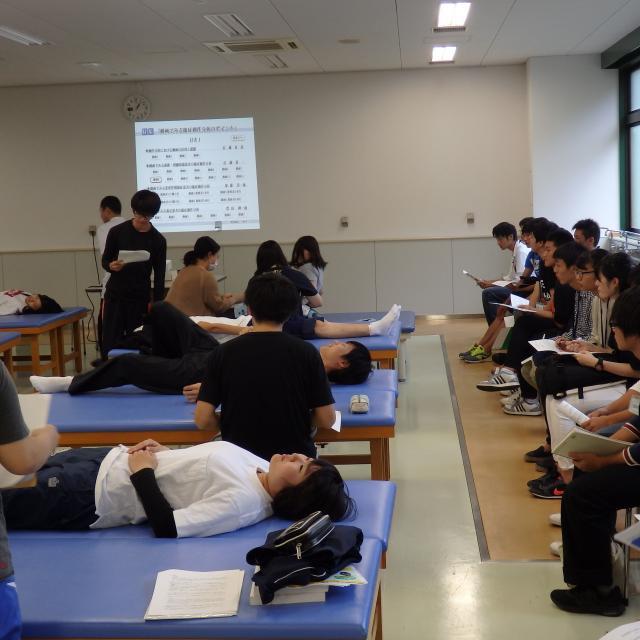 四條畷学園大学 ★リハビリテーション学部★授業公開型オープンキャンパス(WCV)1
