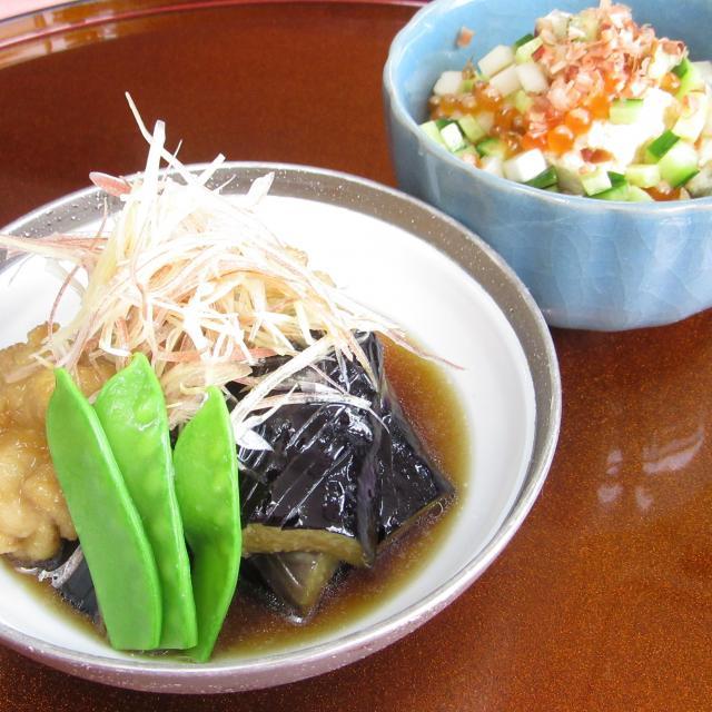 本格日本料理にチャレンジ ~鶏と茄子の煮浸し~
