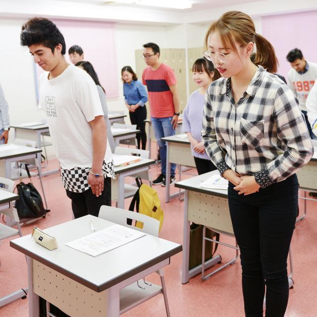 あいちビジネス専門学校 H:留学生のための授業体験1