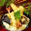 東京山手調理師専門学校 【日本料理】えびの天ぷら丼