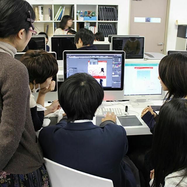 大阪デザイナー専門学校 はじめてのグラフィックデザイン講座4