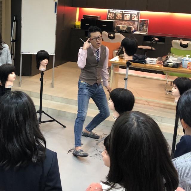 名古屋ビューティー専門学校 2/05 ★体験★~メンズカットに挑戦~4