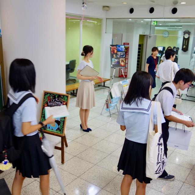 熊本電子ビジネス専門学校 オープンキャンパス(学校説明会)2
