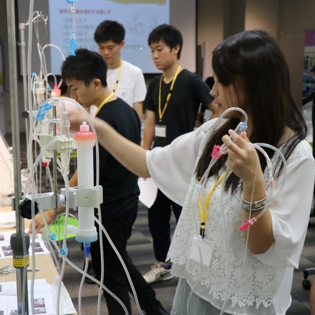 姫路医療専門学校 【臨床工学技士】透析ってどんな仕事?1