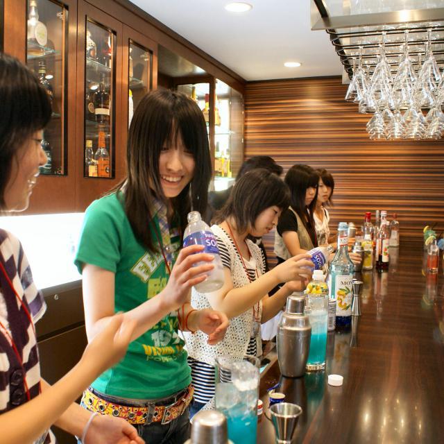 大阪ホテル専門学校 【ホテルサービス】職業なりきり体験オープンキャンパス4