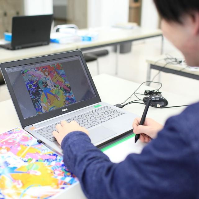 京都芸術デザイン専門学校 【画力を上げたい!】コミックイラスト特別イベント『コミ祭』2