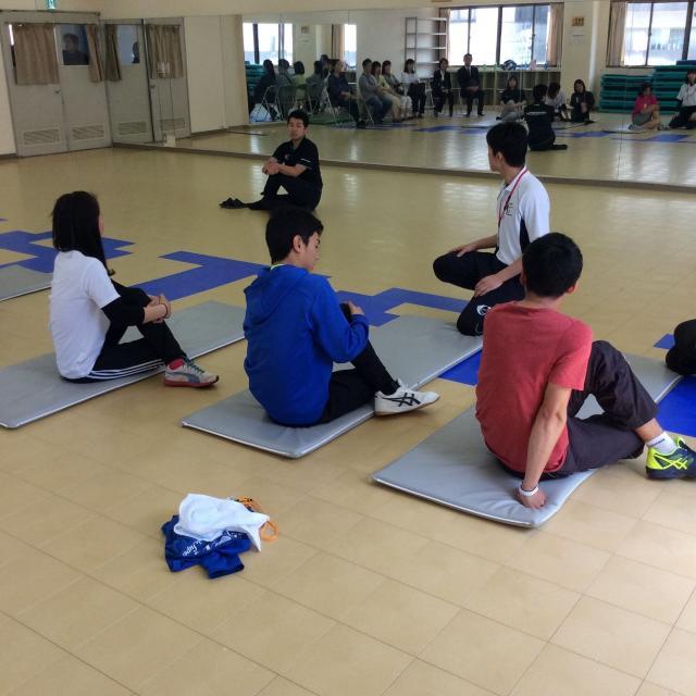 大阪社会体育専門学校 体験入学2