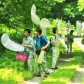 日本自然環境専門学校 森林の中で昆虫採集!