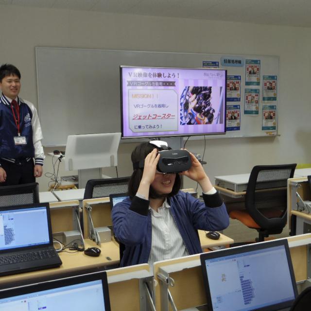 大原簿記情報専門学校福岡校 【情報処理】IT機器を使用してプログラミングの仕組みを知ろう1