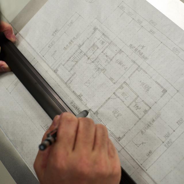 専門学校東京テクニカルカレッジ [建築科]半日体験~「プロの道具で手描き図面を描いてみよう!」1