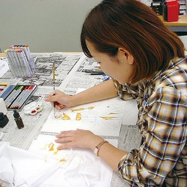 東京デザイナー学院 イラストレーション★画材テクニック講座1