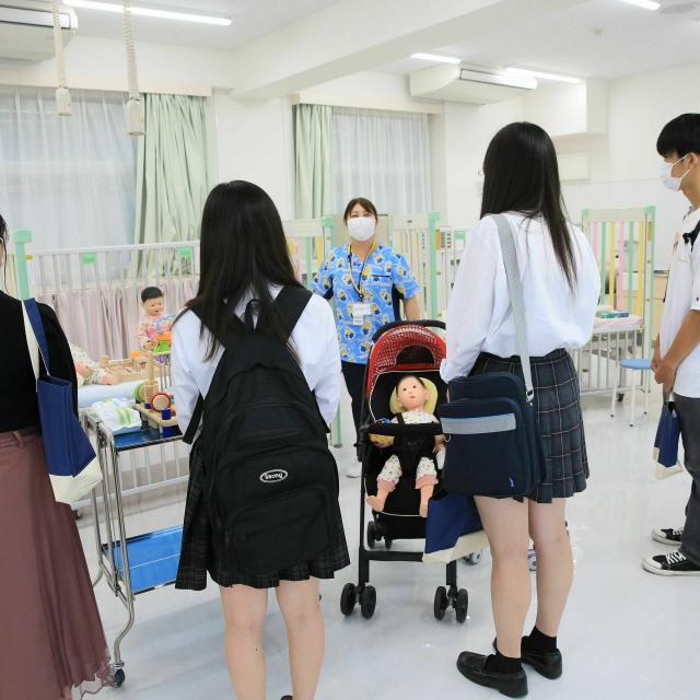 東京純心大学 7/25(日)看護学科オープンキャンパス 1