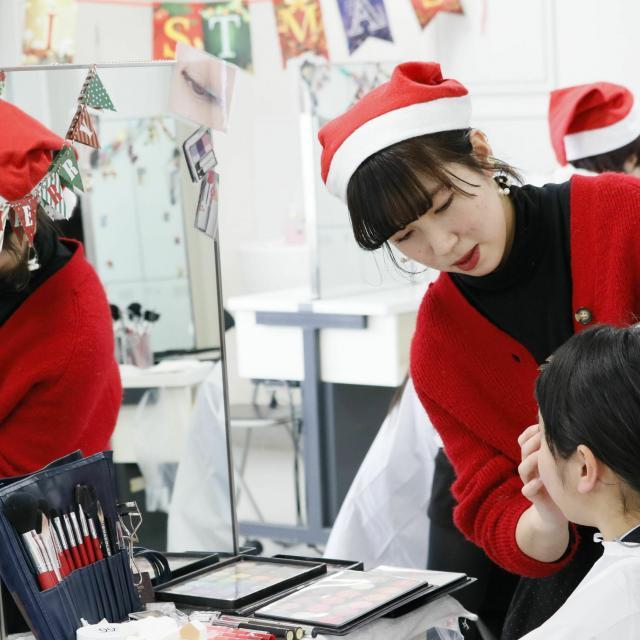 国際文化理容美容専門学校国分寺校 クリスマスオープンキャンパス4