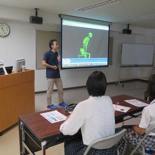 国際医学技術専門学校 理学療法学科の模擬授業!!2