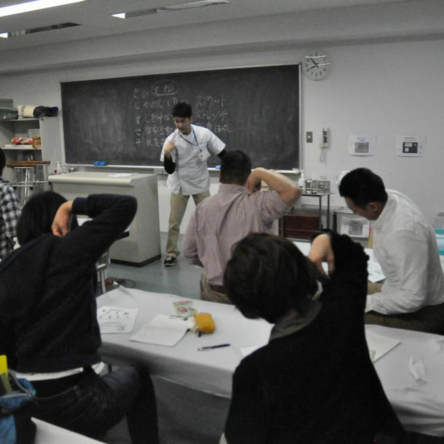 東京医療福祉専門学校 夜の学校説明会3