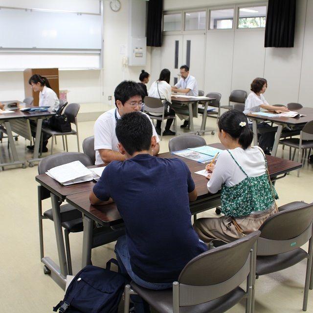常磐会学園大学 放課後オープンキャンパス1