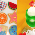 華調理製菓専門学校 アイシングクッキー&フルーツゼリー