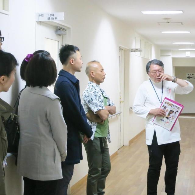 東洋鍼灸専門学校 校長と語ろう!&夜間学校見学会2