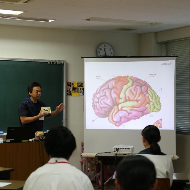 四国医療専門学校 作業療法学科 オープンキャンパス20183