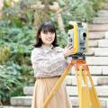 中央工学校 2020体験入学☆測量機器を使ってみよう!