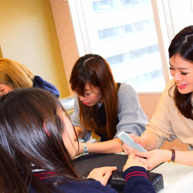 大阪ビューティーアート専門学校 【ネイル】ネイルでおしゃれに♪オープンキャンパス4