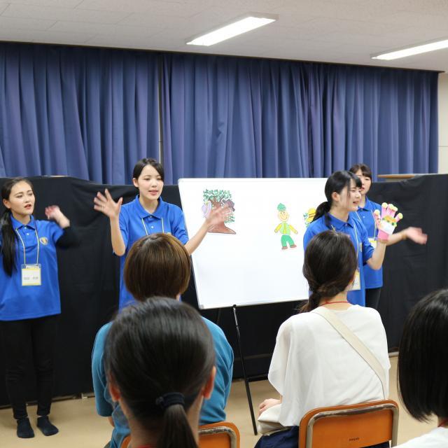 北九州保育福祉専門学校 実技にチャレンジ!先輩にも会えるよ!1