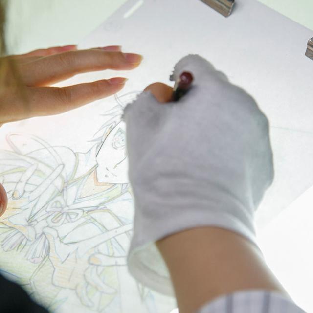 東京コミュニケーションアート専門学校 アニメーションのお仕事体験1