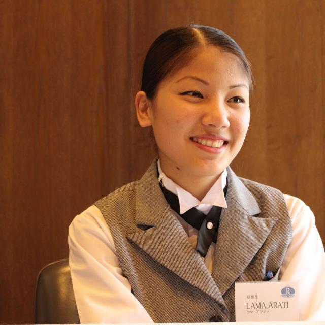 専門学校 長野ビジネス外語カレッジ 【体験授業】世界が注目、日本の「おもてなし」マナー講座1
