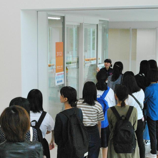 新潟中央短期大学 これまで以上に広く充実したキャンパスを見に行こう!3