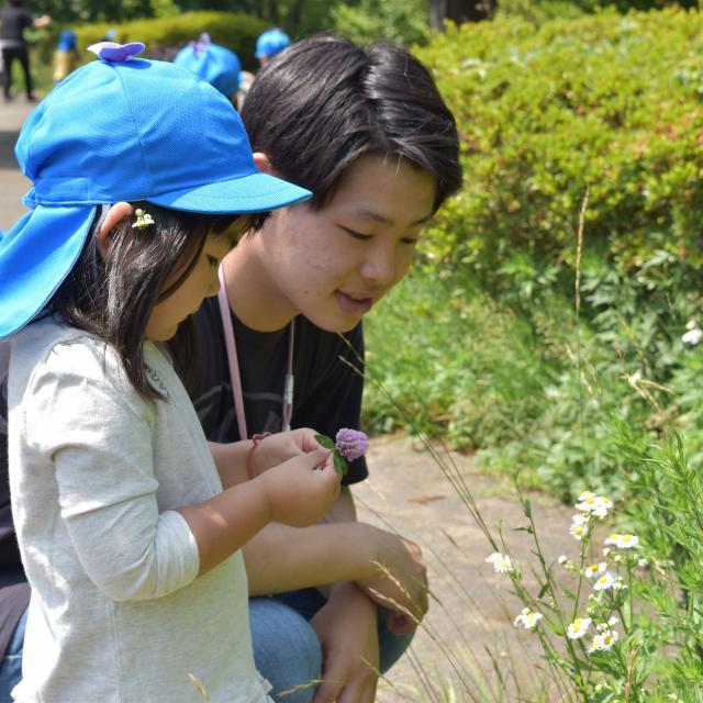 横浜保育福祉専門学校 体験入学 保育のお仕事プチ体験2