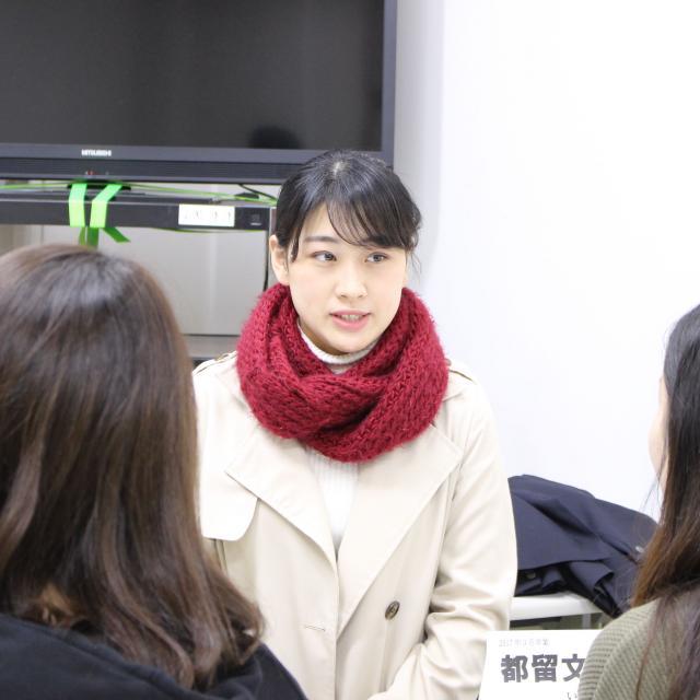 東京立正短期大学 卒カフェ開催(卒業生による相談コーナー)1