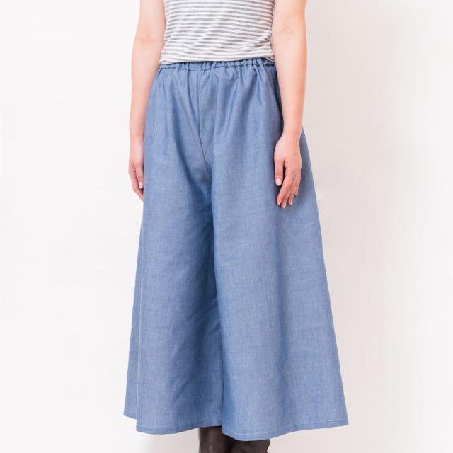 華服飾専門学校 パンツ製作体験1