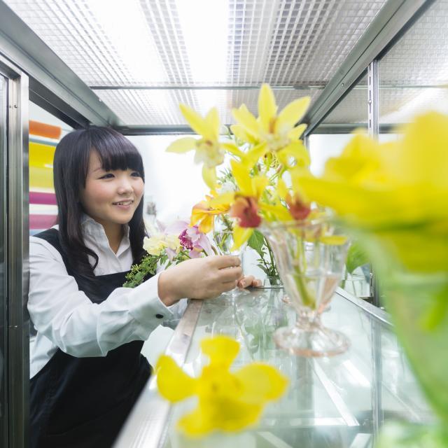 新潟農業・バイオ専門学校 プロが使う専門機材を使って色素を分析しよう!3