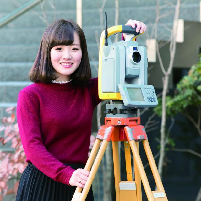 2017体験入学☆測量機器を使ってみよう!