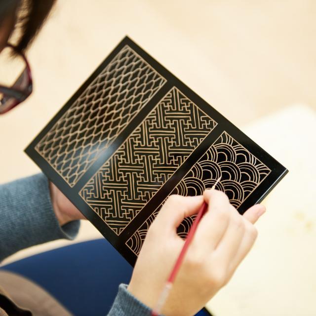 京都伝統工芸大学校 オープンキャンパス2020 漆工芸・蒔絵1