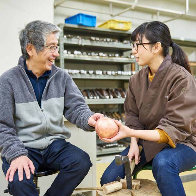 京都伝統工芸大学校 工芸体験キャンパス2018 金属工芸1
