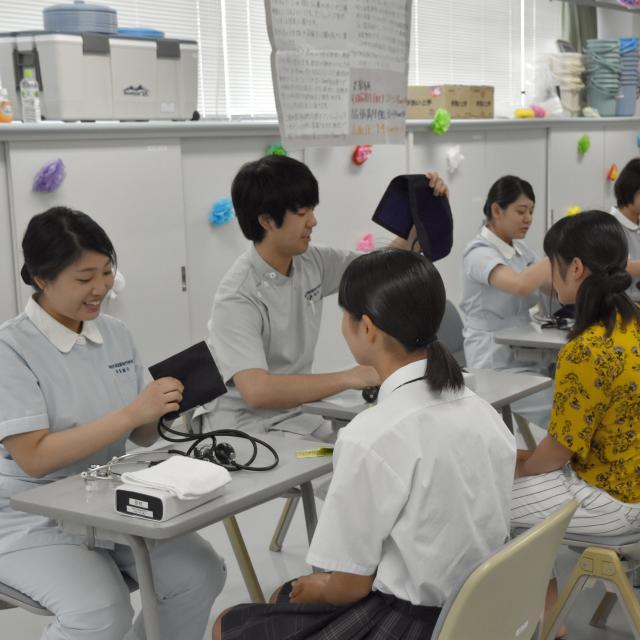 湘南平塚看護専門学校 オープンキャンパス2