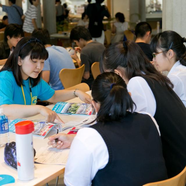 東京都市大学 毎年数千人が訪れる本学最大の進学イベント オープンキャンパス3