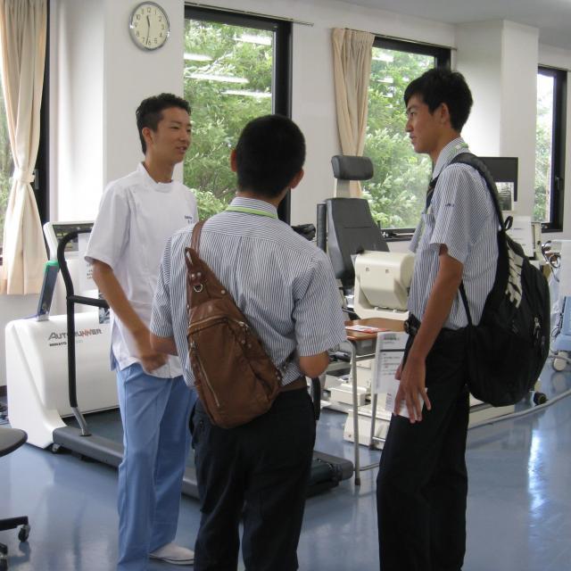 広島都市学園大学 【リハビリテーション学科】オープンキャンパス2