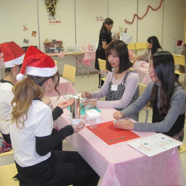 松本理容美容専門学校 マツビ クリスマスイベント20182