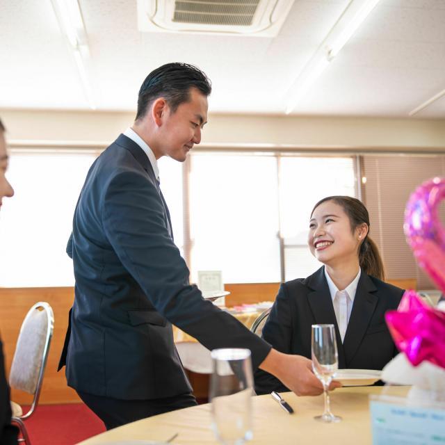 水戸経理専門学校 【ブライダル学科】ブライダル・ホテルのお仕事体験♪3