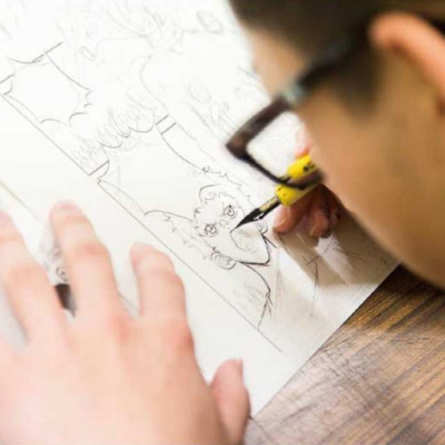 専門学校日本デザイナー学院 初心者はここからスタート!マンガのはじめ方講座1