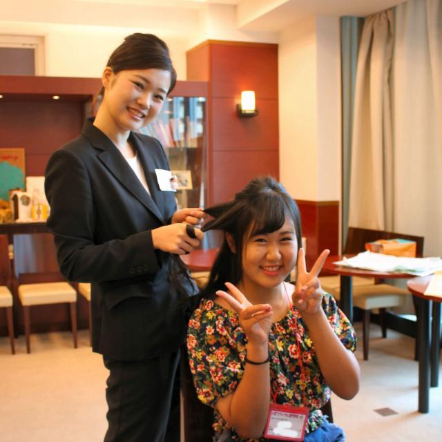 大阪ブライダル専門学校 【高校1・2年生対象】職業なりきり体験オープンキャンパス♪3