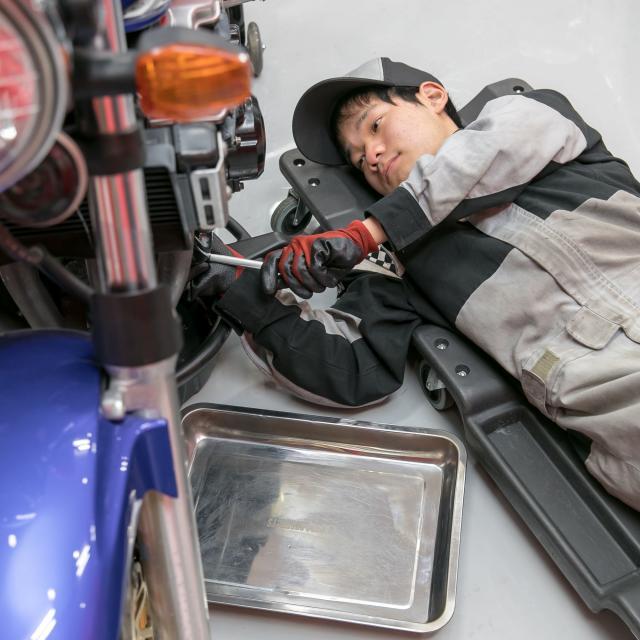専門学校 日産愛知自動車大学校 学校見学会2