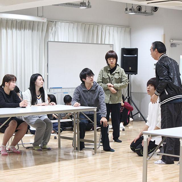 演技科体験入学「卒業生俳優と一緒に演じて一緒に学ぼう」
