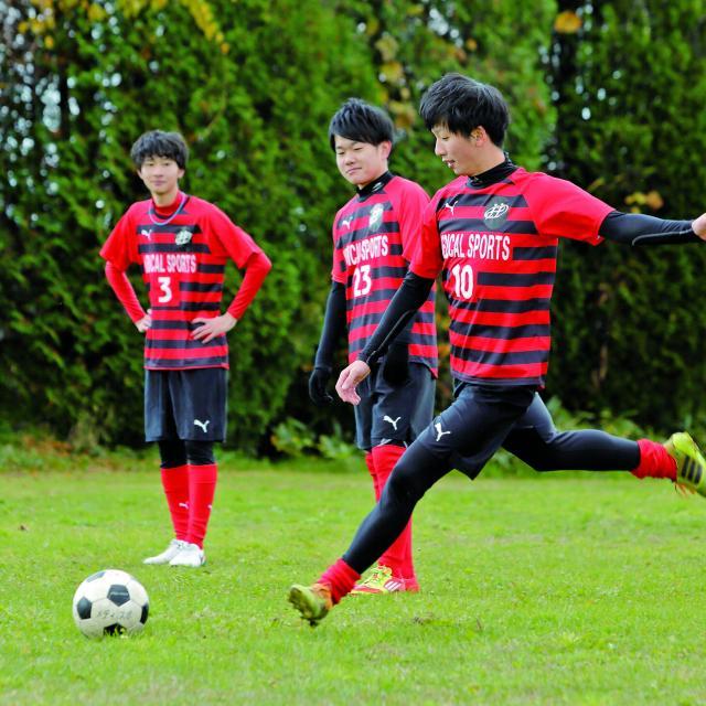 北海道メディカル・スポーツ専門学校 サッカークリニック開催!2