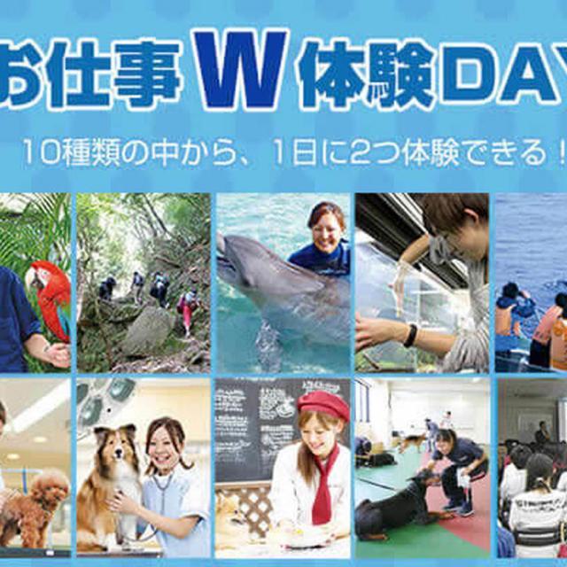 大阪ECO動物海洋専門学校 飼育員さんのお仕事体験! ★お仕事W体験DAY★2